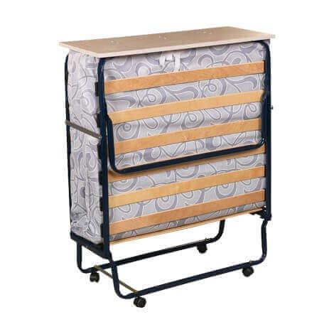 Plegatin - Cama somier plegable con ruedas