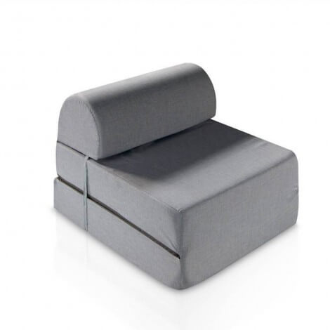 POUF CAMA GREY