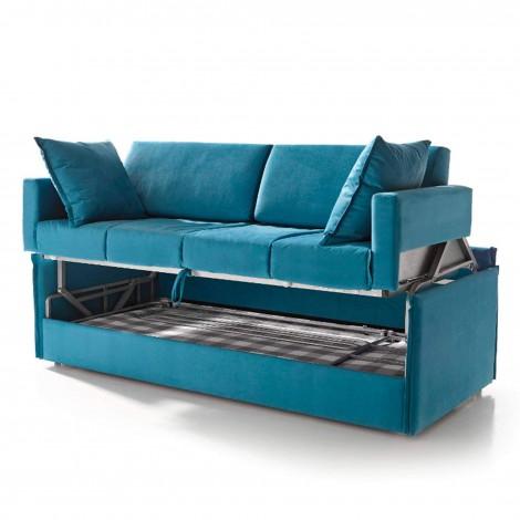 Sof cama litera estilo italiano for Camas plegables diseno italiano