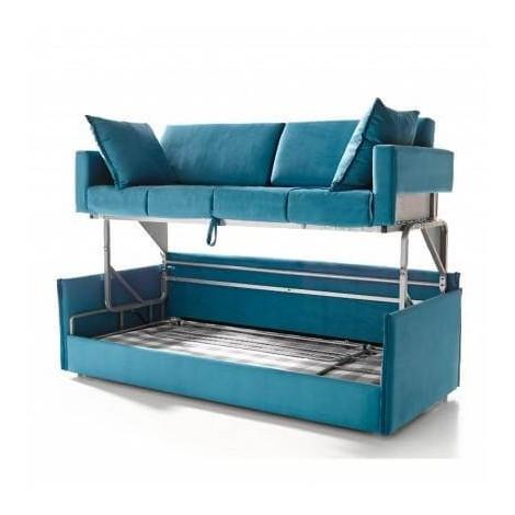 Sof cama litera estilo italiano for Sofas cama diseno italiano ofertas