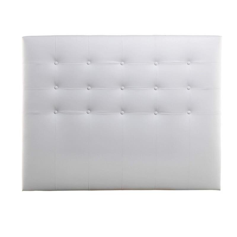 Cabecero de cama Zen polipiel blanco