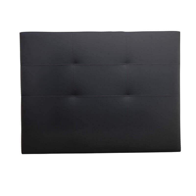 Cabecero de cama Tokio polipiel negro