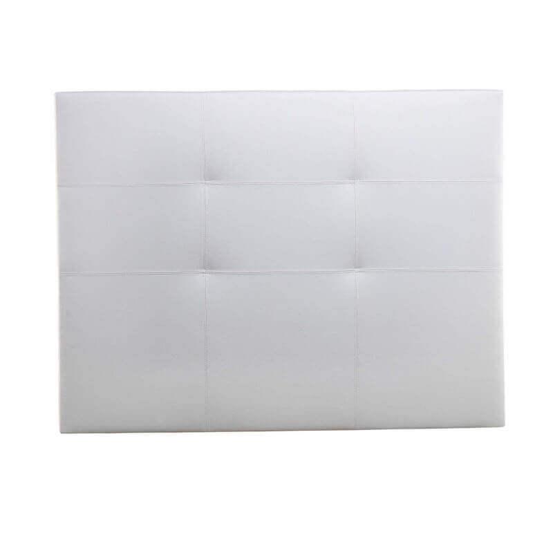 Cabecero de cama Tokio polipiel blanco