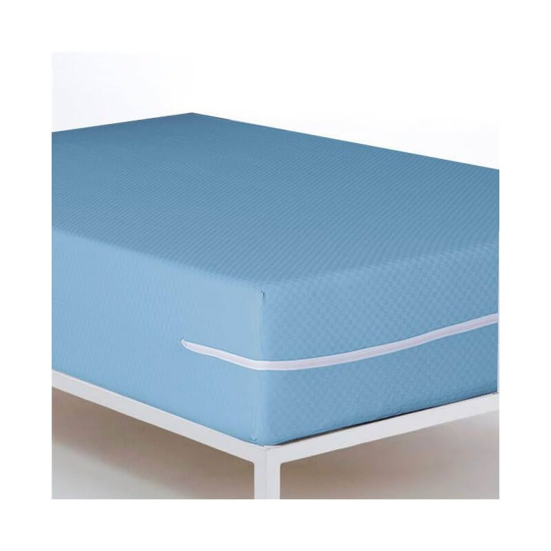 Funda protectora de colchón Niza Azul