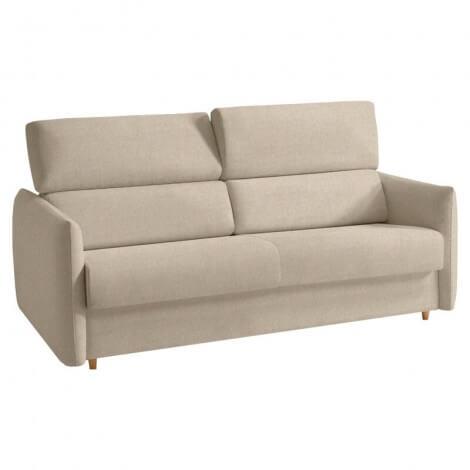 Sofá cama VANA respaldo beige