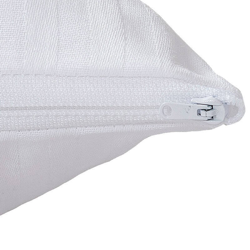 Funda de almohada raso labrado