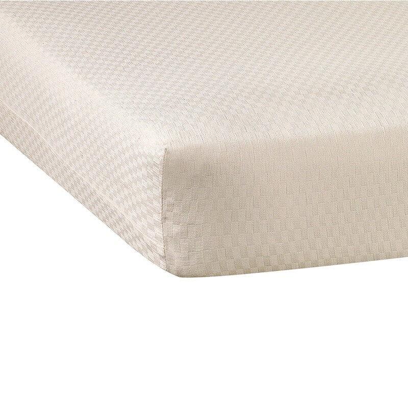 Funda protectora de colchón Niza Beige