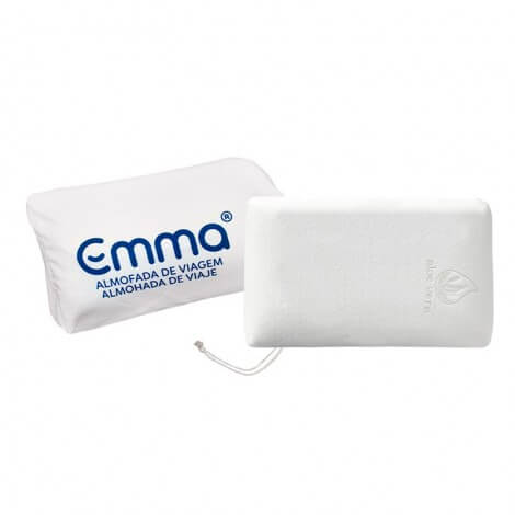 Memory foam mini travel pillow