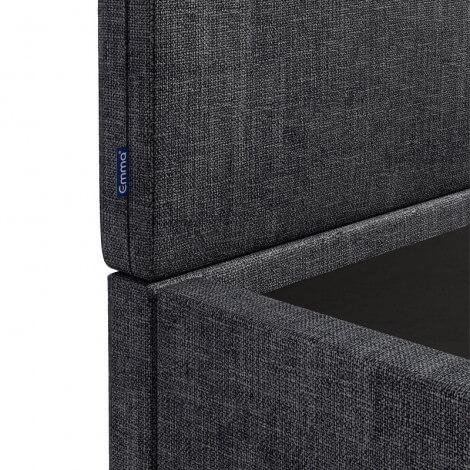 Upholstered base split 3D Mesh Breathable Gray with legs