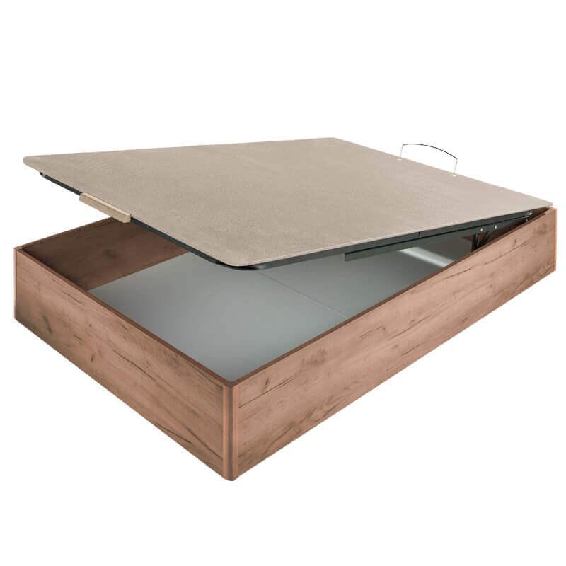 Canapé abatible madera wood tapa embutida altura 35 cm
