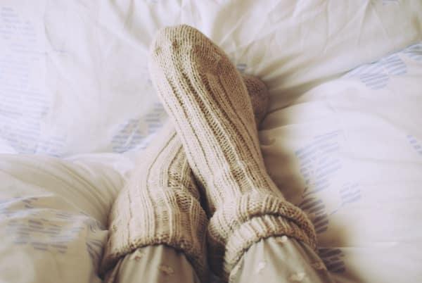 dormir con calcetines