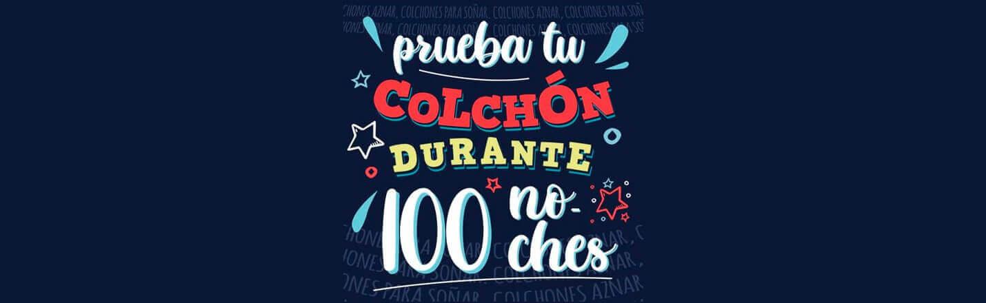 Ofertas de Colchones, 100 noches de  PRUEBA!