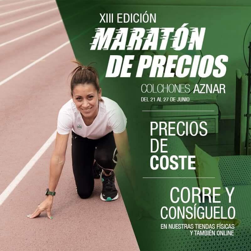 Maraton de colchones AZNAR