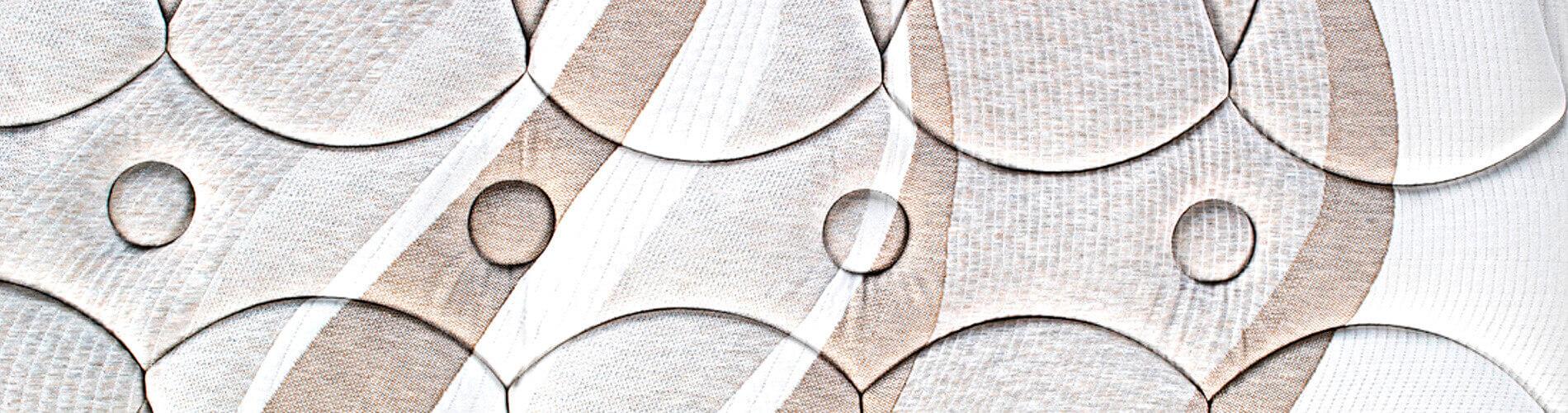 El colchón Emood con la nueva tecnología SmartPik de Pikolin, está compuesto por un núcleo de muelles Normablock®