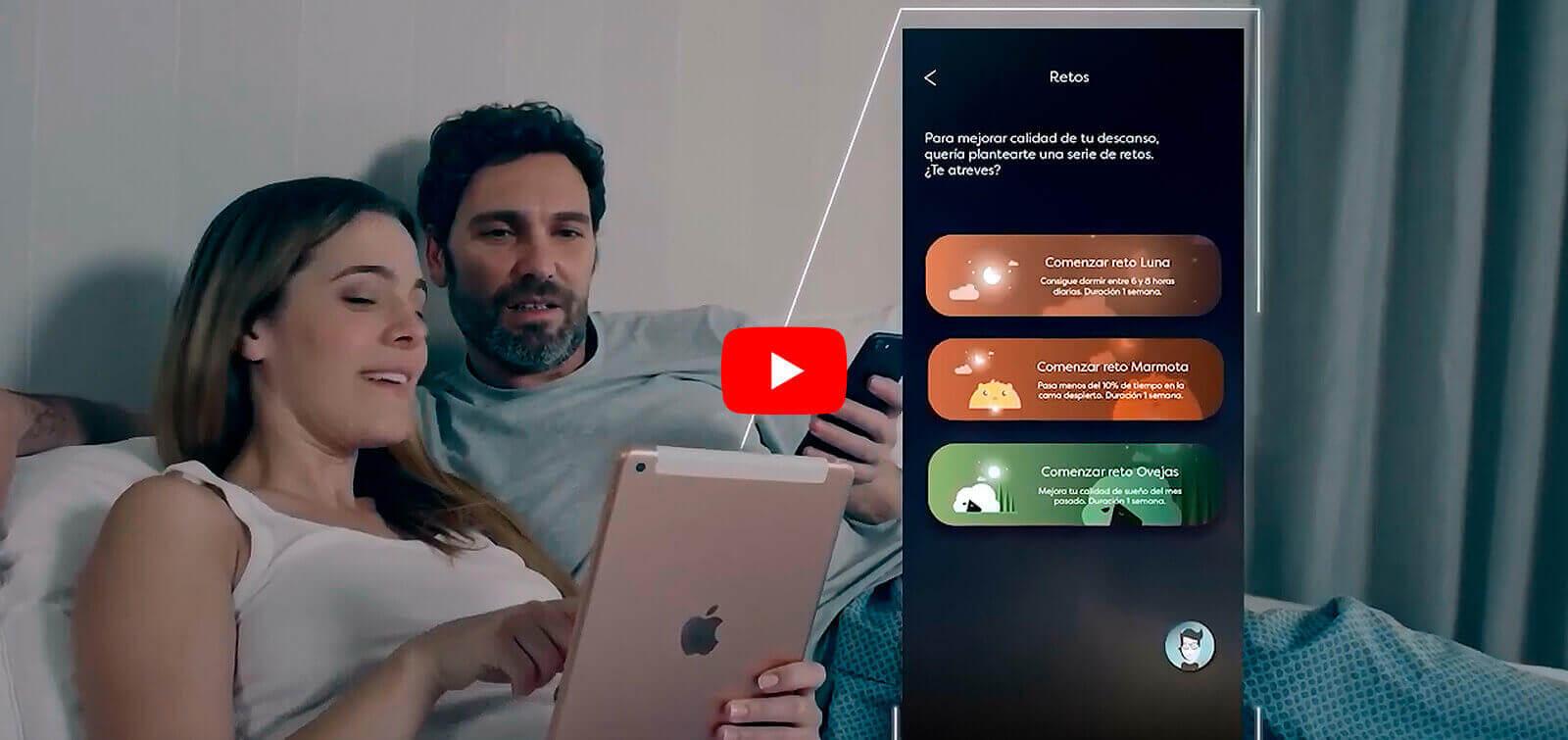 Colchón inteligente pikolin, con la tecnología smartpik