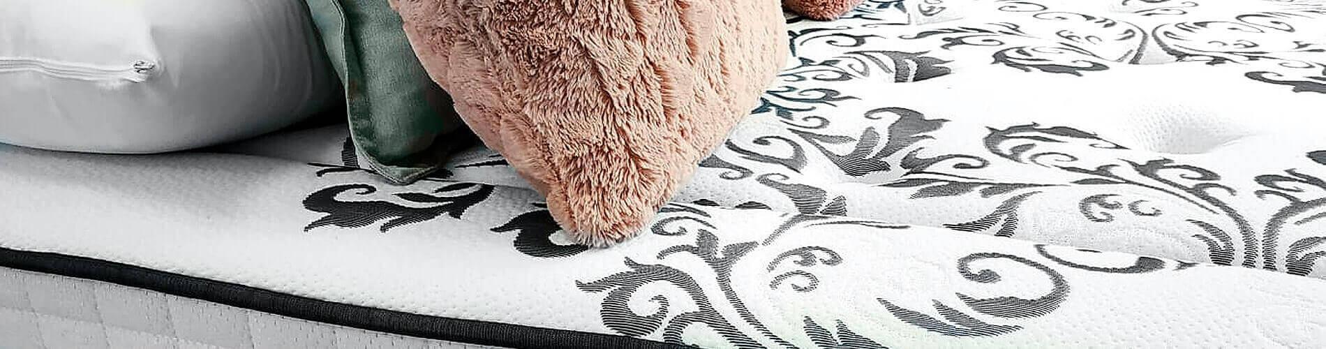 detalle del tejido del colchón Queen