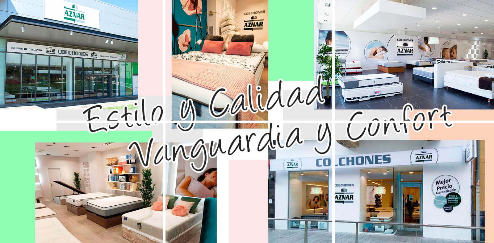 Colchones Aznar tiendas en España