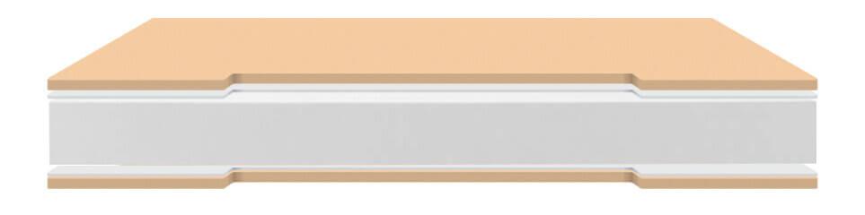 Colchón Relax Outlet Hr Su densidad standard garantiza una vida prolongada del mismo. Su estructura celular interior origina la aireación y ventilación, facilitando su buena conservación y una durabilidad superior.