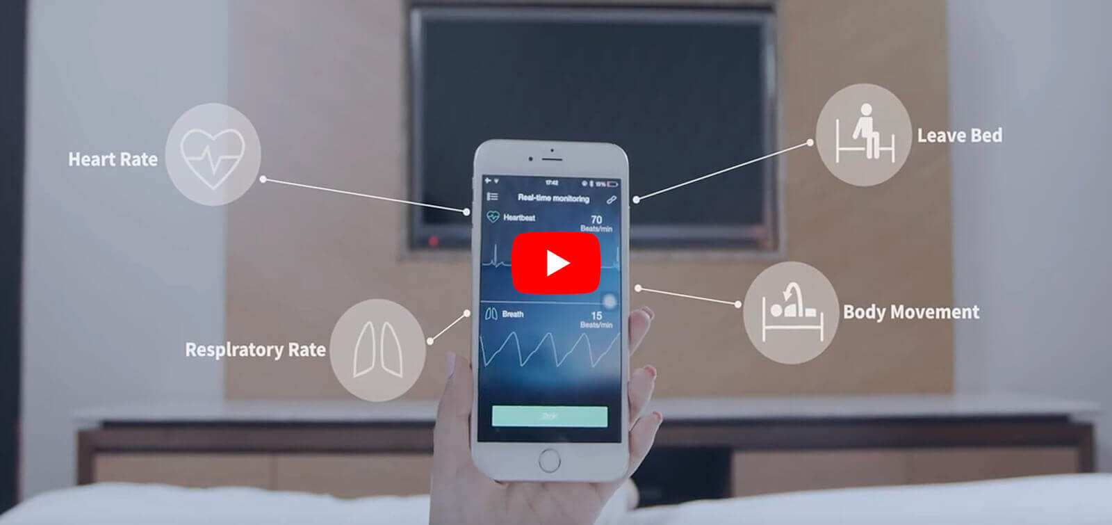 Sensor inteligente Sleepace